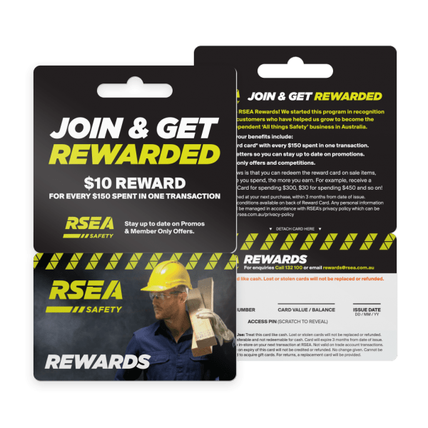 Plastic Rewards Cards - RSEA