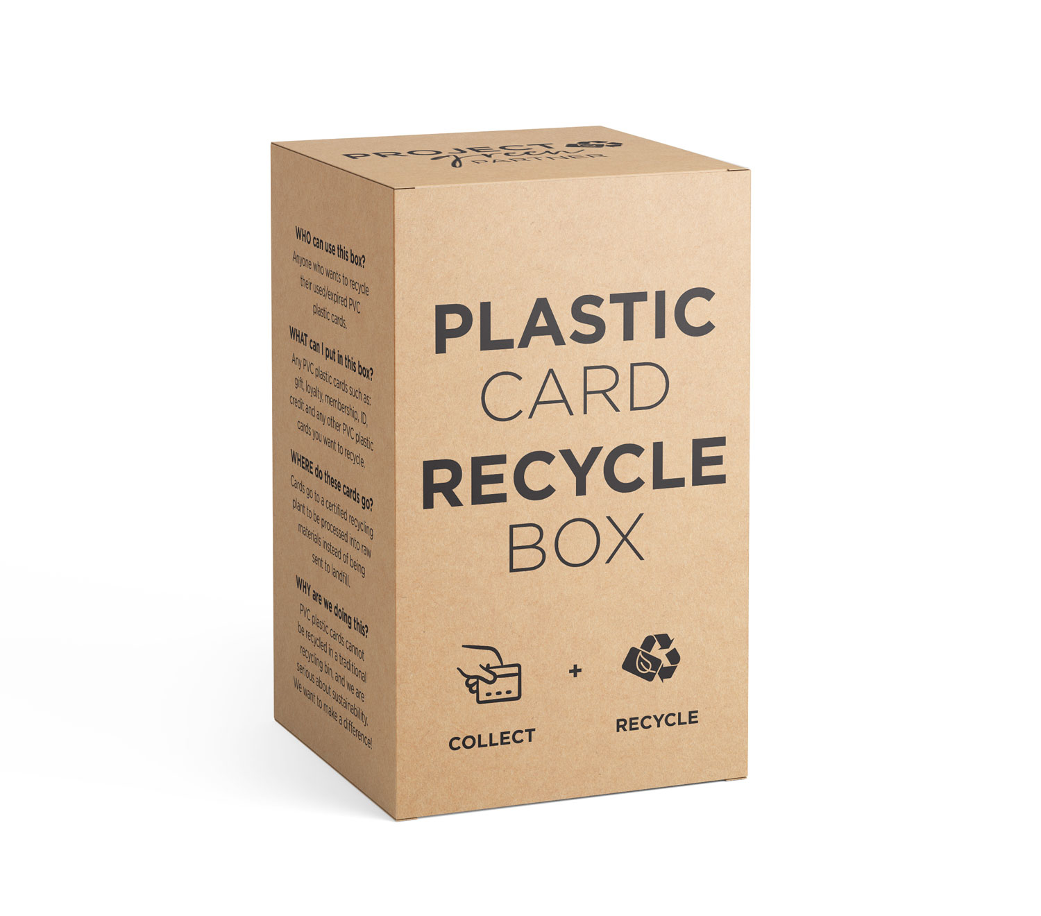 Plastic Card Recycle Box